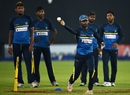 Upul Tharanga leads Sri Lanka's fielding training, Dambulla, March 23, 2017