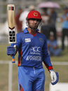 Samiullah Shenwari struck his 11th ODI fifty, Afghanistan v Ireland, 5th ODI, Greater Noida, March 24, 2017