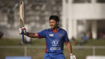 Rahmat Shah celebrates his century