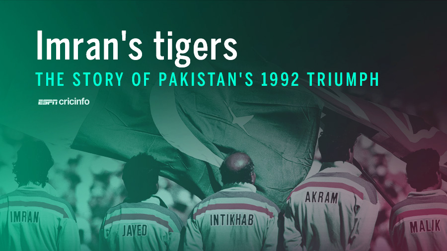 The story of Pakistan's 1992 World Cup triumph