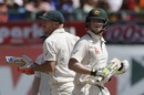 David Warner and Steven Smith put on 134 in 32.3 overs, India v Australia, 4th Test, Dharamsala, 1st day, March 25, 2017