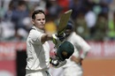 Steven Smith struck his third century of the series, India v Australia, 4th Test, Dharamsala, 1st day, March 25, 2017