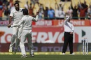 R Ashwin celebrates after dismissing Steven Smith, India v Australia, 4th Test,  Dharamsala, 1st day,  March 25, 2017
