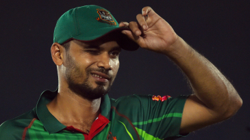 Mashrafe Mortaza reacts in the field