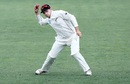 Tom Latham takes aim at the stumps, New Zealand v South Africa, 3rd Test, Hamilton, 2nd day, March 26, 2017