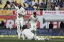 Nathan Lyon had Cheteshwar Pujara caught at short leg, India v Australia, 4th Test, Dharamsala, 2nd day, March 26, 2017