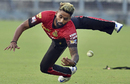 Suryakumar Yadav puts in a dive, IPL 2017, Kolkata, March 26, 2017