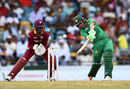 Kamran Akmal goes inside-out over cover, West Indies v Pakistan, 1st T20I, Bridgetown, March 26, 2017