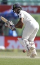 Wriddhiman Saha plays the ball to fine leg, India v Australia, 4th Test, Dharamsala, 3rd day, March 27, 2017