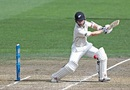 Kane Williamson plays through the off side, New Zealand v South Africa, 3rd Test, Hamilton, 2nd day, March 26, 2017