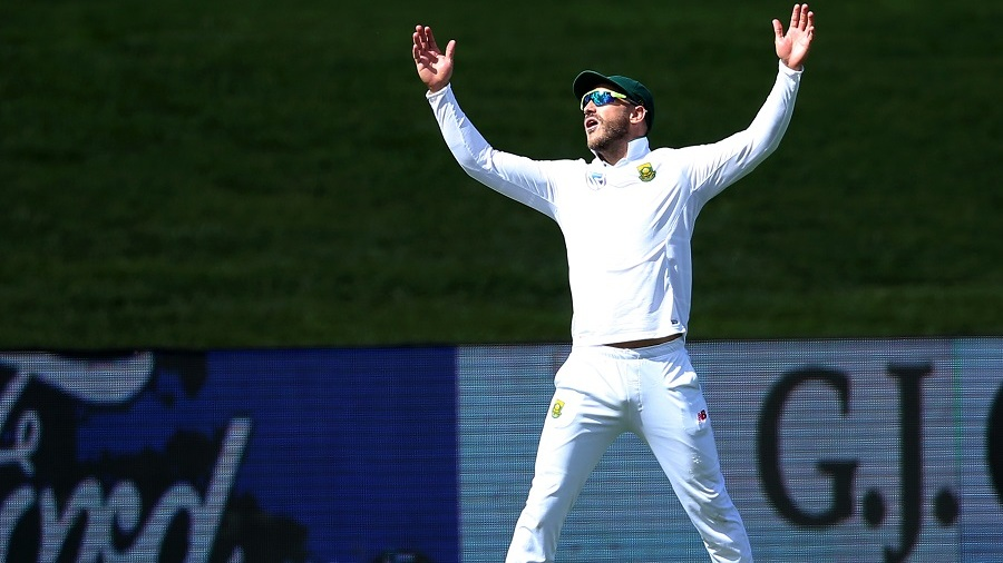 Faf du Plessis had to endure tough periods on the field