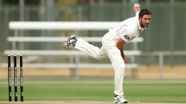 Chadd Sayers took seven wickets