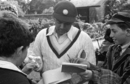 BB Nimbalkar gives a few autographs, May 1, 1946