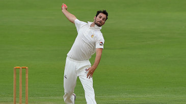 Lewis Gregory claimed five wickets in a hostile display