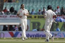 Josh Hazlewood gives his delivery an afterthought, India v Australia, 4th Test, Dharamsala, 4th day, March 28, 2017
