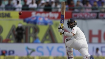 Ajinkya Rahane was in an aggressive mood