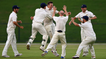 Craig Overton's hat-trick couldn't rescue MCC
