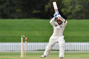 Cam Fletcher was bowled not offering a shot, Canterbury v Wellington, Plunket Shield, 1st day, Christchurch, March 29, 2017