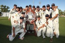 Victoria celebrate their third successive Sheffield Shield title, Victoria v South Australia, Sheffield Shield final, Alice Springs, 5th day, March 30, 2017