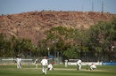Adam Zampa gets into his bowling stride, Victoria v South Australia, Sheffield Shield final, Alice Springs, 5th day, March 30, 2017