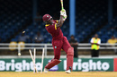 Carlos Brathwaite was bowled by Wahab Riaz, West Indies v Pakistan, 2nd T20I, Port of Spain, March 30, 2017