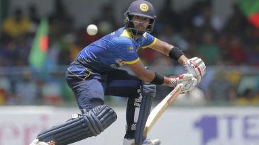 Kusal Mendis anchored Sri Lanka's innings yet again
