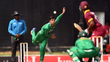 Shadab Khan went wicketless