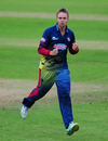 Fabian Cowdrey celebrates a NatWest Blast wicket for Kent, Somerset v Kent, NatWest Blast, July 7, 2016