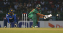 Mahmudullah lunges forward to reverse-sweep the ball, Sri Lanka v Bangladesh, 1st T20I, Colombo, April 4, 2017