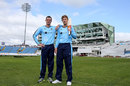 Yorkshire first, Ashes later: Peter Handscomb and Joe Root are on the same side for now, Headingley, April 5, 2017