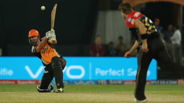 Ben Cutting belts one back past the bowler