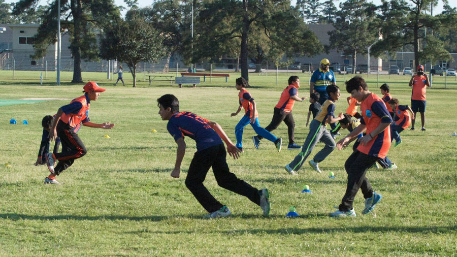 A youth training session in Houston, Texas