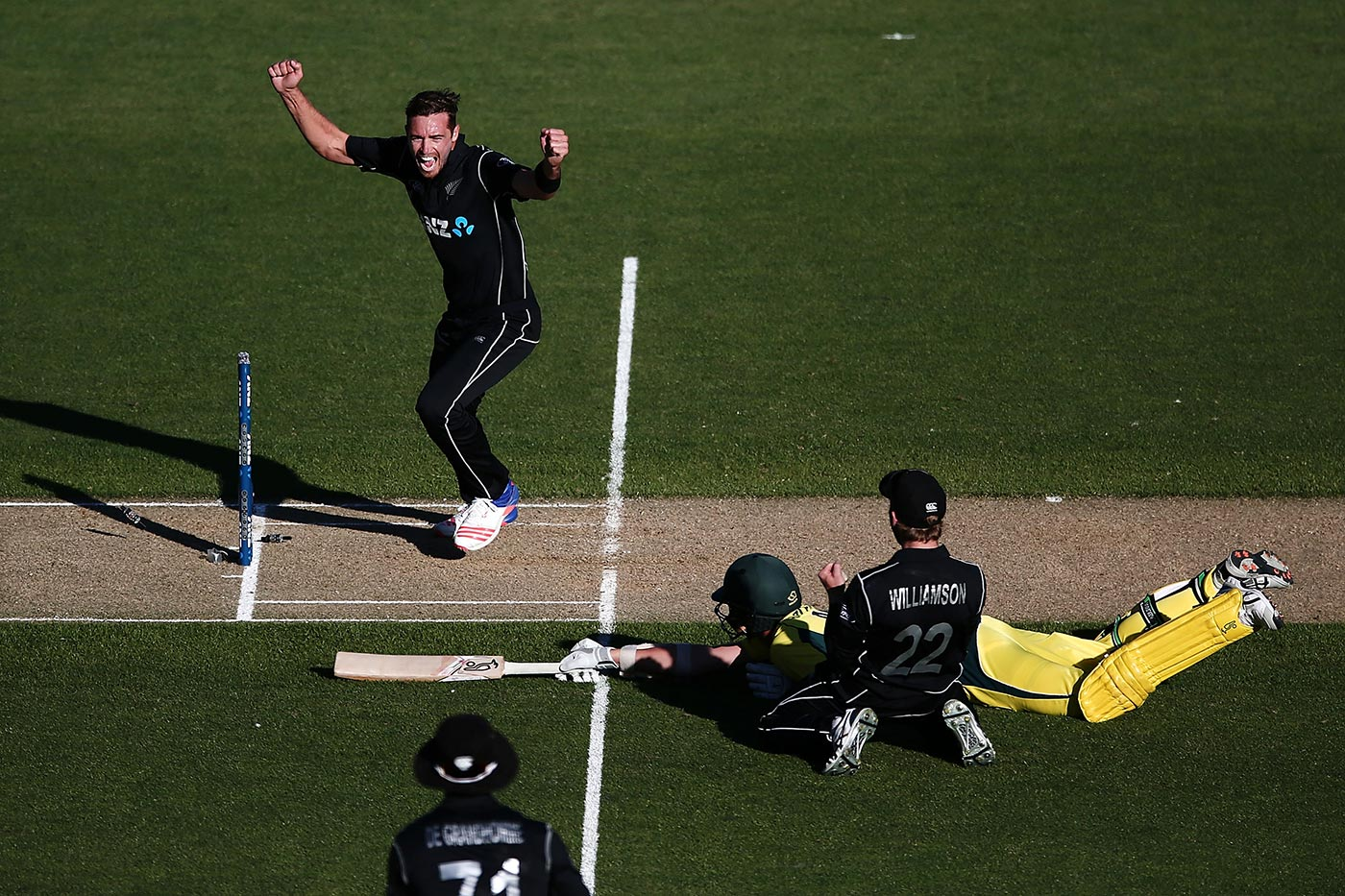 Fowl play: the end of Josh Hazlewood's 26-minute vigil in Auckland