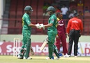 Kamran Akmal and Ahmed Shehzad put on 85 for the first wicket, West Indies v Pakistan, 1st ODI, Guyana, April 7, 2017
