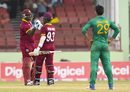 Jason Mohammed and Ashley Nurse saw West Indies' chase through, West Indies v Pakistan, 1st ODI, Guyana, April 7, 2017