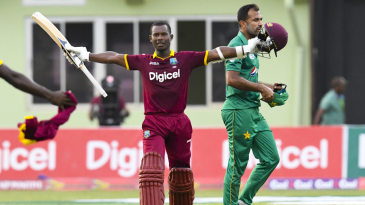 Jason Mohammed's blitz piloted West Indies' highest successful chase in ODIs