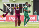 Jason Mohammed's blitz piloted West Indies' highest successful chase in ODIs, West Indies v Pakistan, 1st ODI, Guyana, April 7, 2017
