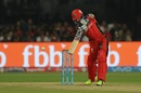 Mandeep Singh struck three boundaries before falling for 12, Royal Challengers Bangalore v Delhi Daredevils, IPL 2017, Bengaluru, April 8, 2017