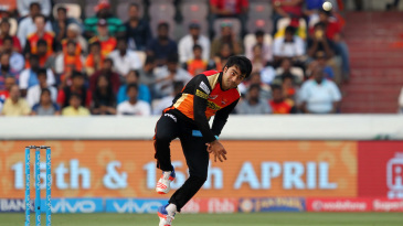 Rashid Khan gives it a rip