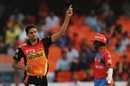 Ashish Nehra had Dinesh Karthik caught behind, Sunrisers Hyderabad v Gujarat Lions, IPL, Hyderabad, April 9, 2017