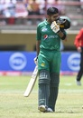 Babar Azam remained unbeaten on 125, West Indies v Pakistan, 2nd ODI, Providence, April 9, 2017
