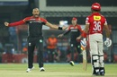 Tymal Mills outwitted Manan Vohra with a slower ball, Kings XI Punjab v Royal Challengers Bangalore, IPL 2017, Indore, April 10, 2017
