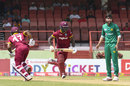 Evin Lewis and Chadwick Walton put on  31 for the first wicket, West Indies v Pakistan, 3rd ODI, Providence, April 11, 2017