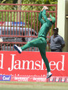 Mohammad Hafeez holds a catch above his head, West Indies v Pakistan, 3rd ODI, Providence, April 11, 2017