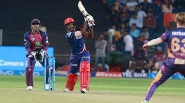 Sanju Samson hits one of five sixes