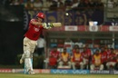 David Miller used his front foot to good effect, Kolkata Knight Riders v Kings XI Punjab, IPL 2017, Kolkata, April 13, 2017