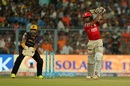 Wriddhiman Saha wasn't hesitant to use his feet, Kolkata Knight Riders v Kings XI Punjab, IPL 2017, Kolkata, April 13, 2017