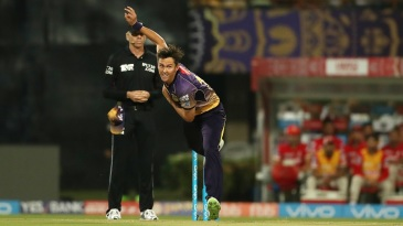 Trent Boult had no luck with the ball
