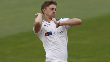 Ben Coad was among the wickets again
