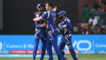 Mitchell McClenaghan took 2 for 20 to help limit Royal Challengers